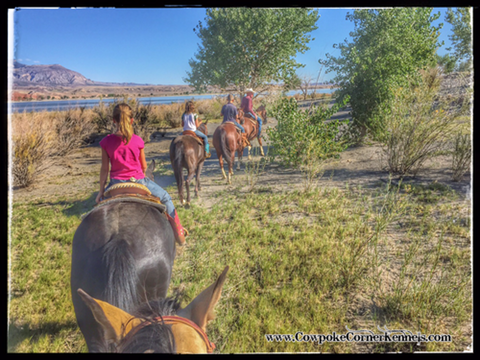 Family-trial-ride-big-horn-lake